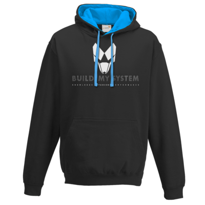 Motiv: Two-Tone Hoodie - BUILD MY SYSTEM