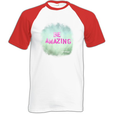 Motiv: Baseball-T FAIR WEAR - Be Amazing
