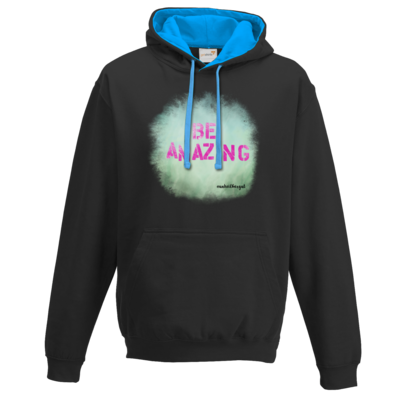 Motiv: Two-Tone Hoodie - Be Amazing