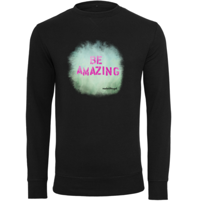 Motiv: Light Crew Sweatshirt - Be Amazing