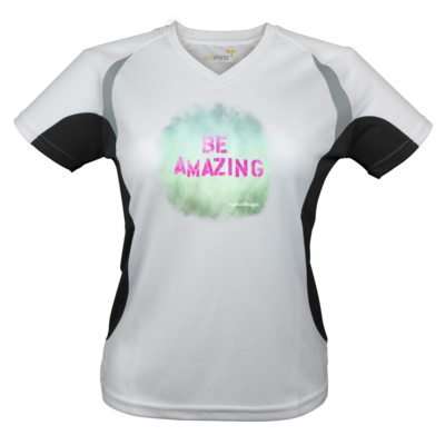 Motiv: Laufshirt Lady Running T - Be Amazing