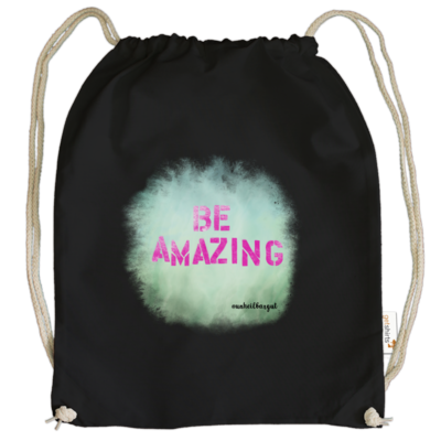 Motiv: Cotton Gymsac - Be Amazing