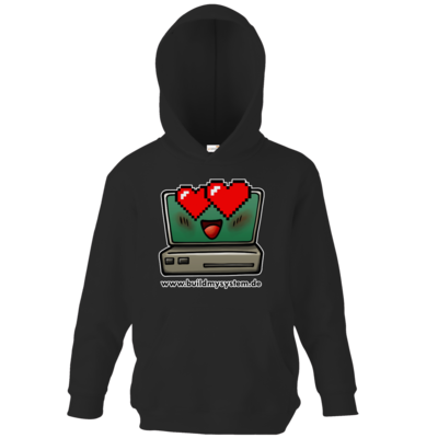 Motiv: Kids Hooded Sweat - Build My System Love