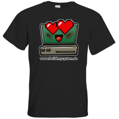 Motiv: T-Shirt Premium FAIR WEAR - Build My System Love