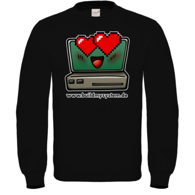 Motiv: Sweatshirt FAIR WEAR - Build My System Love