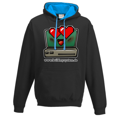 Motiv: Two-Tone Hoodie - Build My System Love