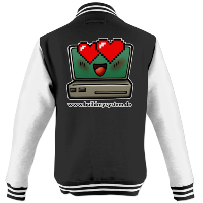 Motiv: College Jacke - Build My System Love