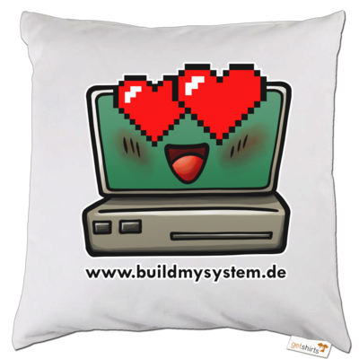 Motiv: Kissen - Build My System Love