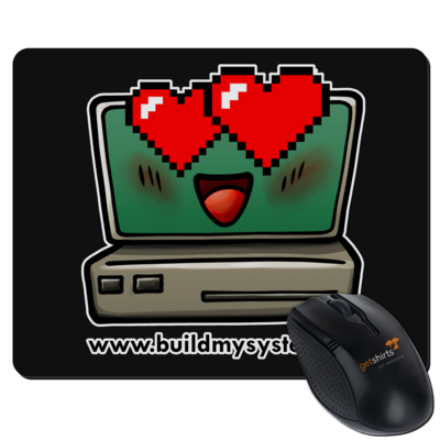 Motiv: Mousepad Textil - Build My System Love