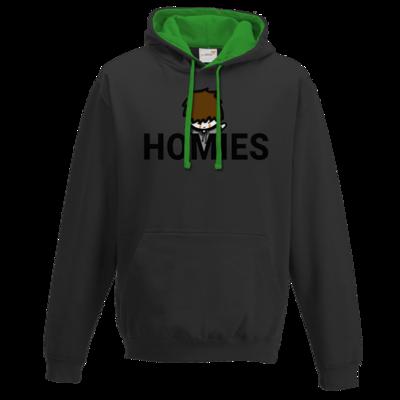 Motiv: Two-Tone Hoodie - Homies