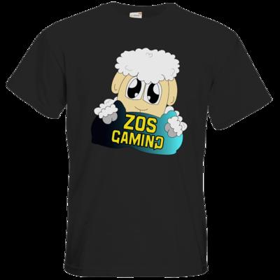 Motiv: T-Shirt Premium FAIR WEAR - ZOS Schaf mit Kuschelkissen