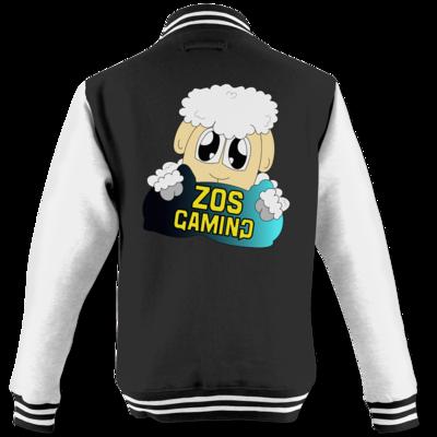 Motiv: College Jacke - ZOS Schaf mit Kuschelkissen