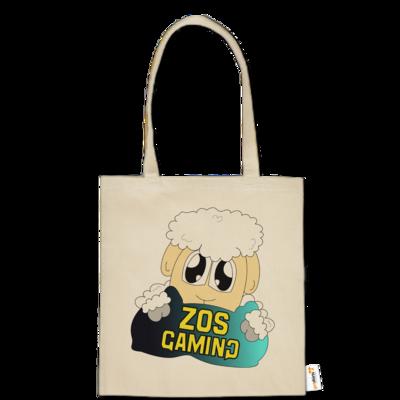 Motiv: Baumwolltasche - ZOS Schaf mit Kuschelkissen