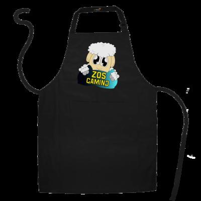 Motiv: Schürze - ZOS Schaf mit Kuschelkissen