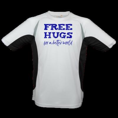 Motiv: Laufshirt Running T - Free Hugs #01