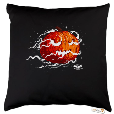 Motiv: Kissen Baumwolle - Halloween 2019 - Kürbis