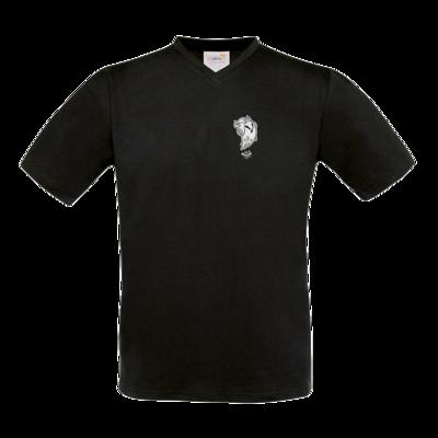 Motiv: T-Shirt V-Neck FAIR WEAR - Halloween 2019 - Geist