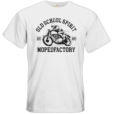 Motiv: T-Shirt Premium FAIR WEAR - oldschool spirit - oldtimer