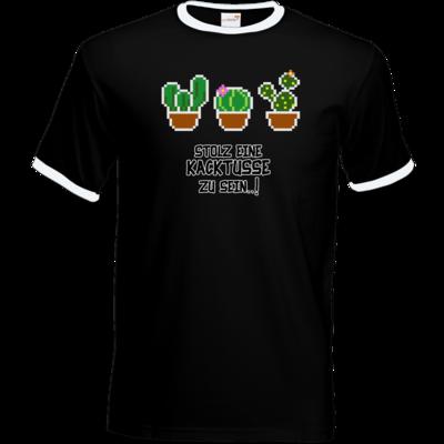 Motiv: T-Shirt Ringer - Kacktusse