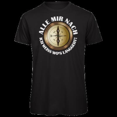 Motiv: Organic T-Shirt - Alle mir nach