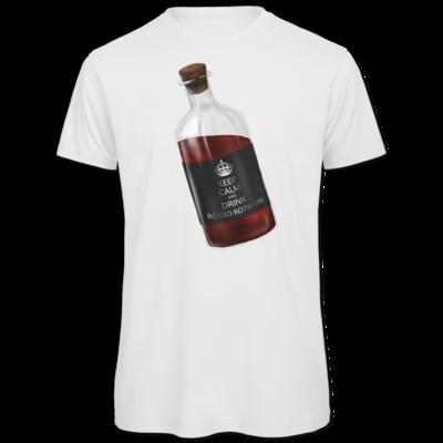 Motiv: Organic T-Shirt - Rosso Rotwein