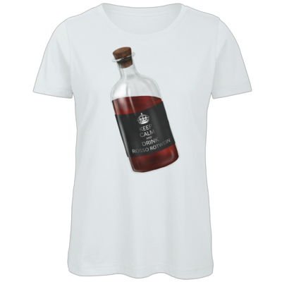 Motiv: Organic Lady T-Shirt - Rosso Rotwein