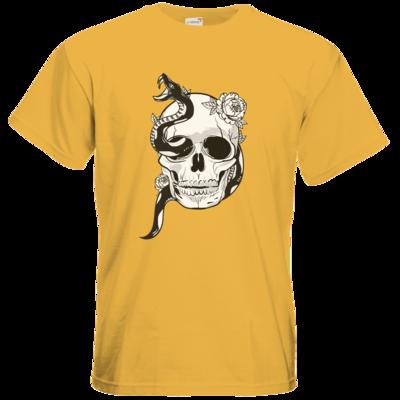 Motiv: T-Shirt Premium FAIR WEAR - Totenkopf