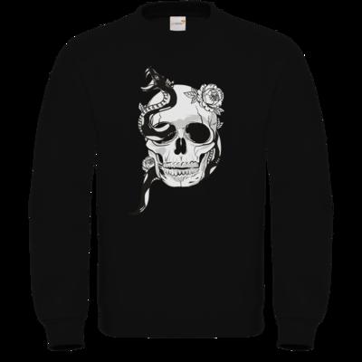 Motiv: Sweatshirt FAIR WEAR - Totenkopf