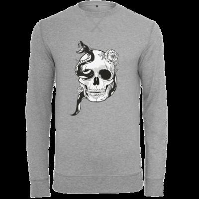 Motiv: Light Crew Sweatshirt - Totenkopf