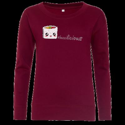 Motiv: Girlie Crew Sweatshirt - beccilicious