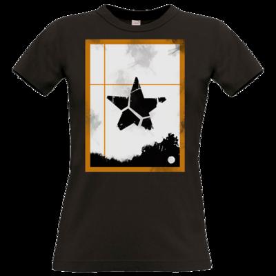 Motiv: T-Shirt Damen Premium FAIR WEAR - Stern
