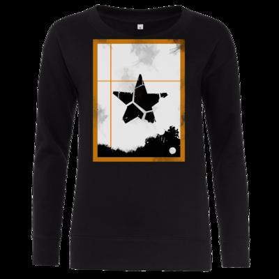 Motiv: Girlie Crew Sweatshirt - Stern