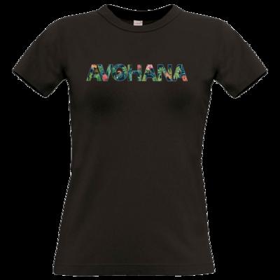 Motiv: T-Shirt Damen Premium FAIR WEAR - Tropical