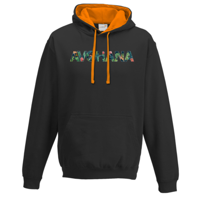 Motiv: Two-Tone Hoodie - Tropical