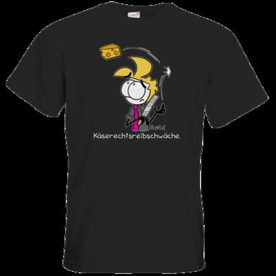 Motiv: T-Shirt Premium FAIR WEAR - Käserechtsreibschwäche