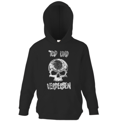 Motiv: Kids Hooded Sweat - Silvestertour - Monochrom