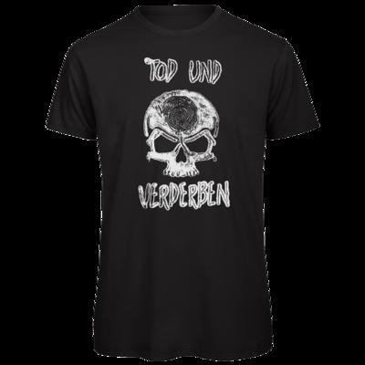 Motiv: Organic T-Shirt - Silvestertour - Monochrom