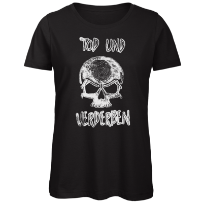 Motiv: Organic Lady T-Shirt - Silvestertour - Monochrom