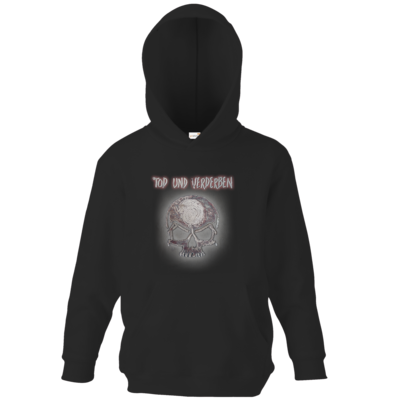 Motiv: Kids Hooded Sweat - To-do-Liste - Mehrfarbig
