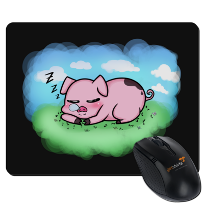 Motiv: Mousepad Textil - Sleepy