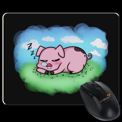 Motiv: Mousepad Textil - Sleepy