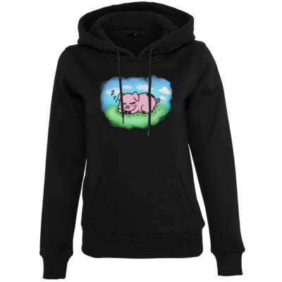 Motiv: Womens Heavy Hoody - Sleepy