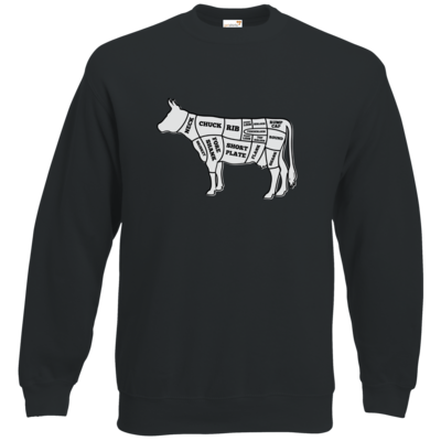 Motiv: Sweatshirt Classic - BEEF CUTS