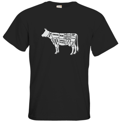 Motiv: T-Shirt Premium FAIR WEAR - BEEF CUTS
