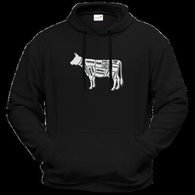 Motiv: Hoodie Premium FAIR WEAR - BEEF CUTS