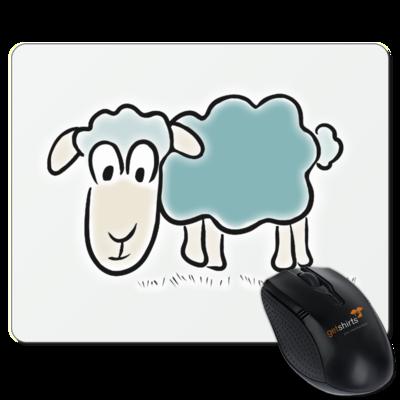 Motiv: Mousepad Textil - ZOS Original Schaf