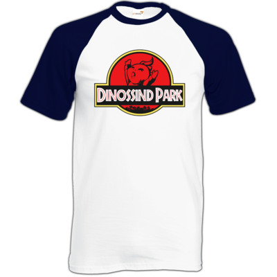 Motiv: Baseball-T FAIR WEAR - dinossindpark