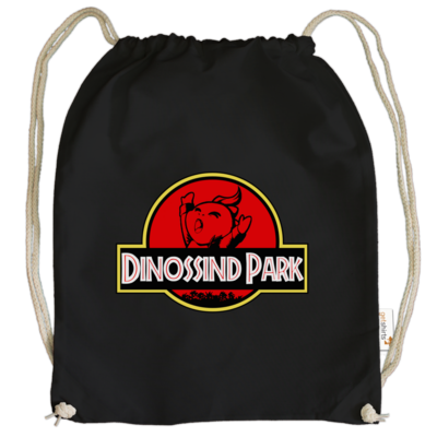 Motiv: Cotton Gymsac - dinossindpark
