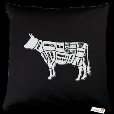 Motiv: Kissen Baumwolle - BEEF CUTS