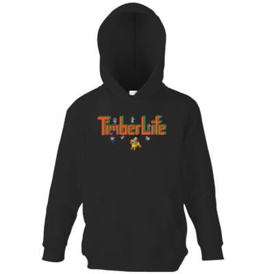 Motiv: Kids Hooded Sweat - TimberLife Schriftzug
